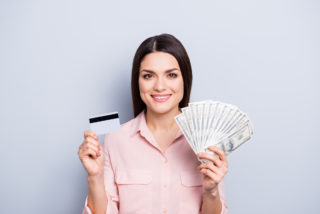 credit cards or cash loans?