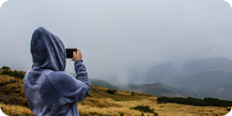 fotografia con niebla