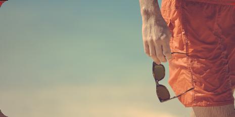 playa lentes de sol